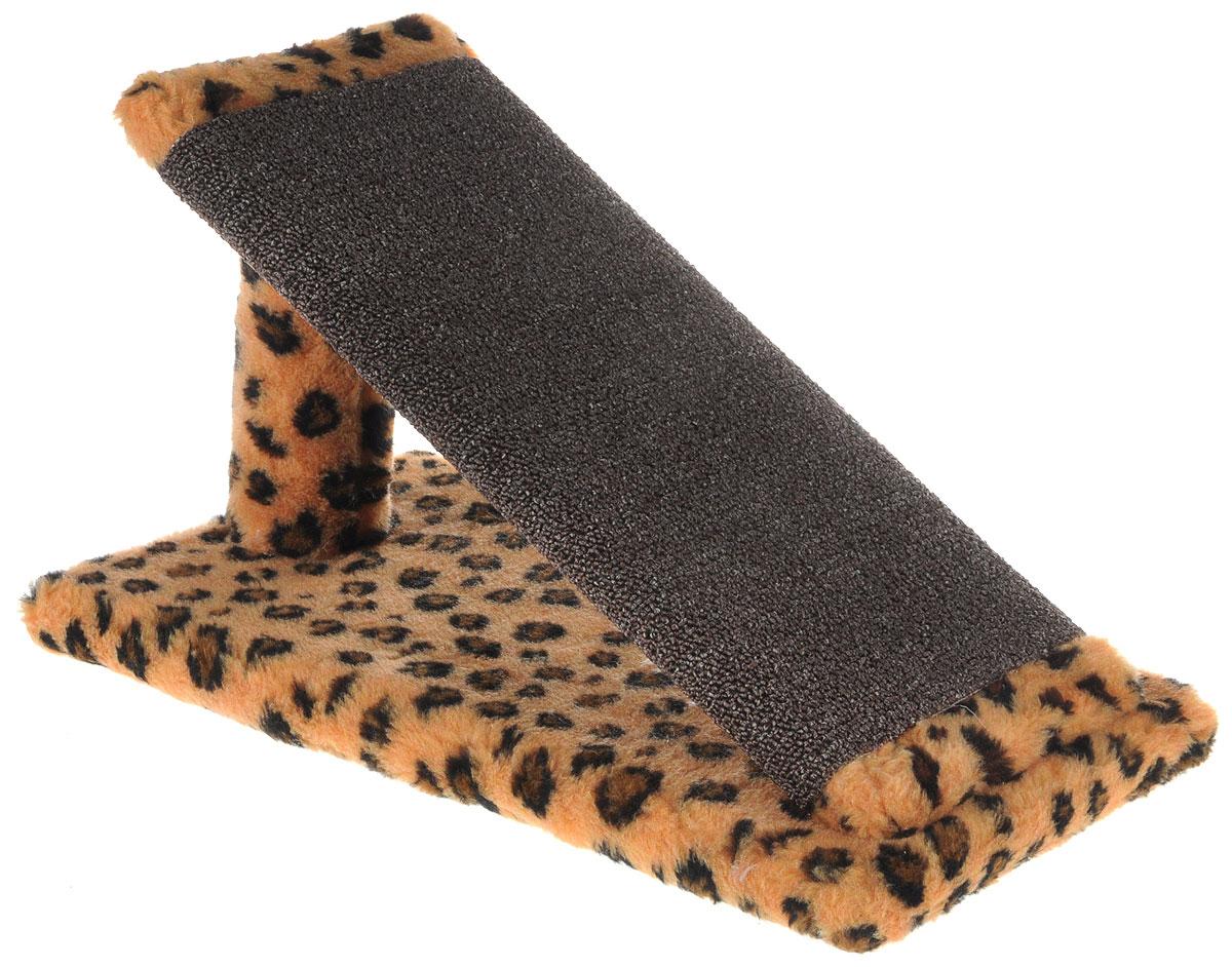 Когтеточка для котят Меридиан Горка, цвет: коричневый, темно-коричневый, черный, 45 х 25 х 25 смК103К ЛеКогтеточка Меридиан Горка предназначена для стачивания когтей вашего котенка и предотвращения их врастания. Она выполнена из ДВП, ДСП и искусственного меха. Точатся когти о накладку из ковролина. Когтеточка позволяет сохранить неповрежденными мебель и другие предметы интерьера.