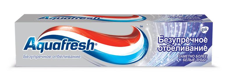 Aquafresh Зубная паста Безупречное отбеливание 100 мл