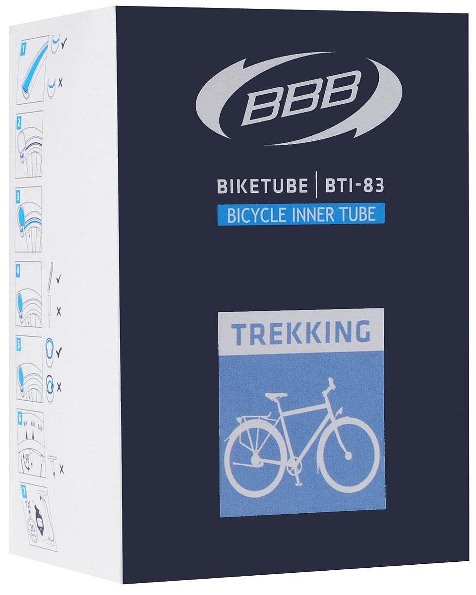 Камера велосипедная BBB, 28, 1-1-2 AVBTI-83Камера BBB изготовлена из долговечного резинового компаунда. Никаких швов, которые могут пропускать воздух. Достаточно большая для защиты от проколов и достаточно небольшая для снижения веса. Велосипедные камеры - обязательный атрибут каждого велосипедиста! Никогда не выезжайте из дома на велосипеде, не взяв с собой запасную велосипедную шину! Диаметр колеса: 28. Ниппель Dunlop: 40 мм Толщина стенки: 0,87 мм.