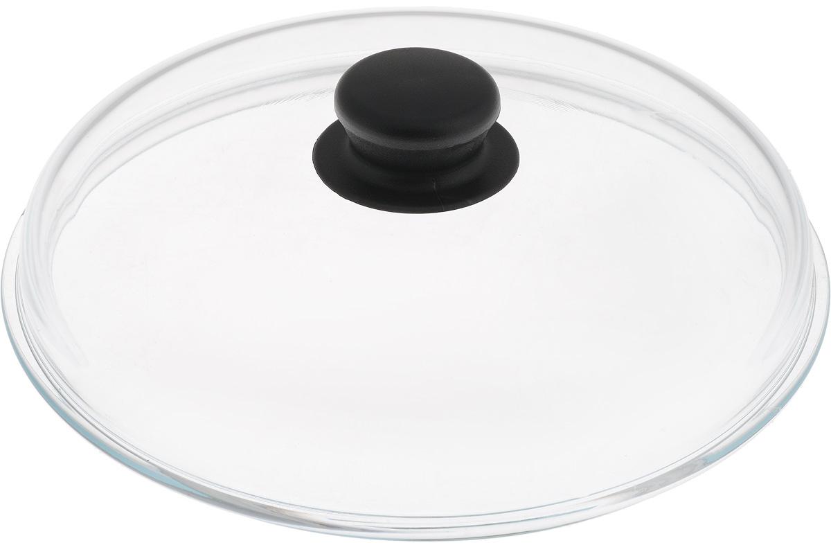 Крышка NaturePan, высокая, цвет: прозрачный, черный. Диаметр 24 см. Л3074Л3074Крышка NaturePan изготовлена из термостойкого и экологически чистого стекла с пластиковой ручкой. Изделие имеет высокую конструкцию, удобно в использовании и позволяет контролировать процесс приготовления пищи. Можно мыть в посудомоечной машине. Диаметр крышки: 24 см. Диаметр ручки: 4,5 см. Высота ручки: 2,5 см. Высота крышки (с учетом ручки): 8 см.