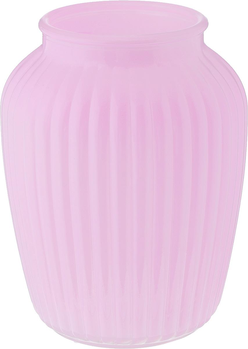 Ваза NiNaGlass Луана, цвет: светло-розовый, высота 19,5 смNG92-021M_светло-розовыйВаза Nina Glass Луана выполнена из высококачественного стекла и имеет изысканный внешний вид. Такая ваза станет ярким украшением интерьера и прекрасным подарком к любому случаю. Не рекомендуется мыть в посудомоечной машине. Высота вазы: 19,5 см. Диаметр вазы (по верхнему краю): 10,5 см.