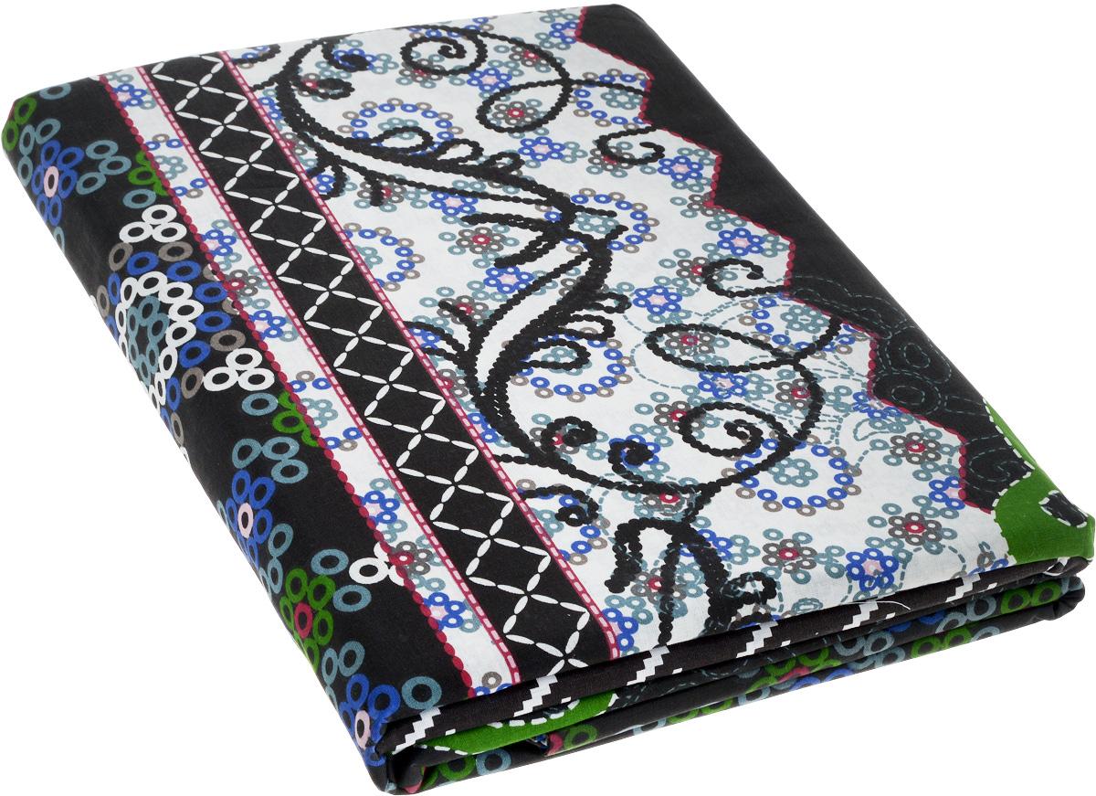 Комплект белья МарТекс Folka, 1,5-спальный, наволочки 70х7001-0403-1Комплект постельного белья МарТекс Folka состоит из пододеяльника, простыни и двух наволочек. Постельное белье оформлено оригинальным ярким рисунком и имеет изысканный внешний вид. Комплект изготовлен из натурального поплина на базе хлопка. Материал обладает всеми свойствами хлопка (не вызывает аллергию, хорошо пропускает воздух, легко стирается и гладится, прочен, выдерживает много стирок и т.д.), плюс он очень долговечен, износоустойчив, но при этом очень мягкий.
