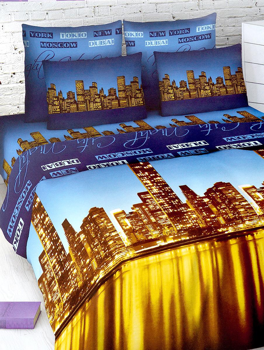 Комплект белья МарТекс Василиса, 2-спальный, наволочки 70х70, цвет: синий, коричневый01-1016-2Комплект постельного белья МарТекс Василиса состоит из пододеяльника, простыни и двух наволочек. Постельное белье оформлено оригинальным ярким рисунком и имеет изысканный внешний вид. Комплект изготовлен из качественной хлопчатобумажной бязи. Поверхность материи - ровная и матовая на вид, одинаковая с обеих сторон. Ткань экологична, гипоаллергенна, износостойка. Это отличный материал для постельного белья.