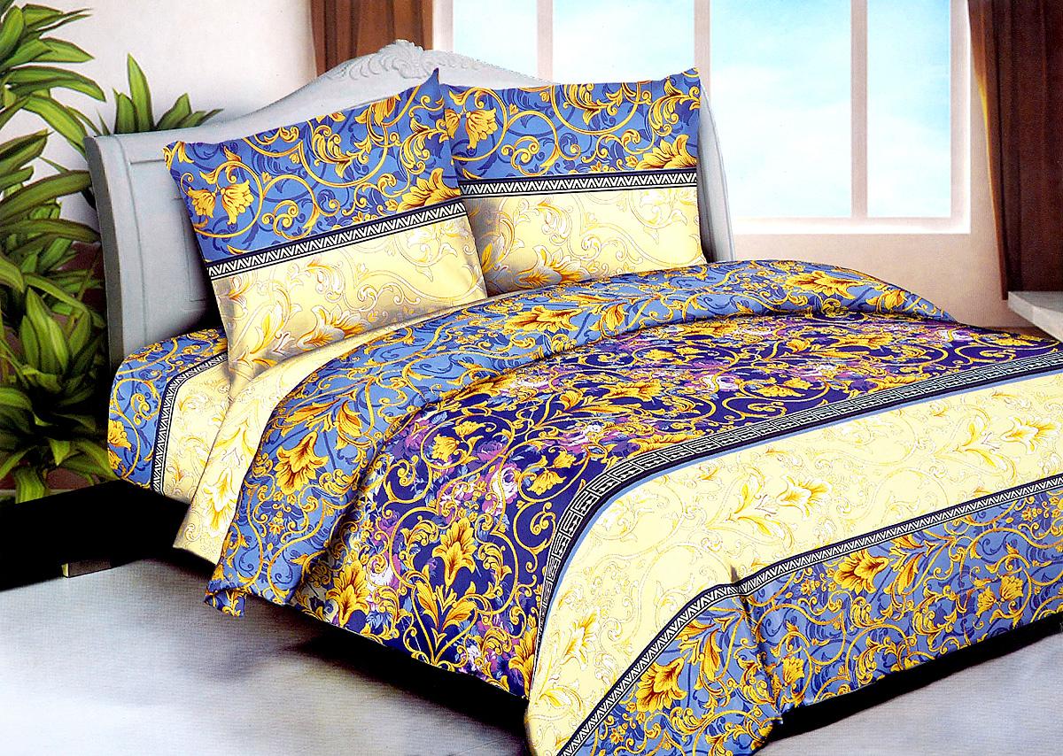 Комплект белья МарТекс Алекса, 2-спальный, наволочки 70х70. 01-1243-201-1243-2
