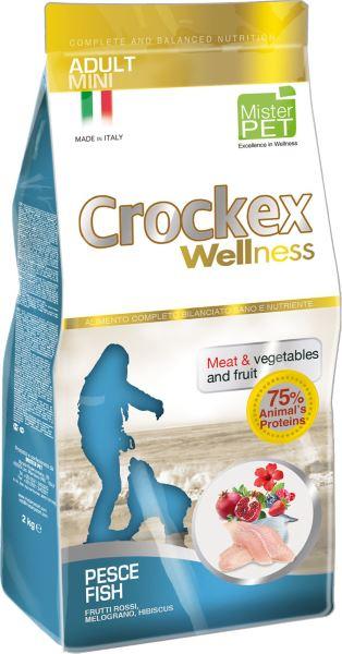 Корм сухой Crockex Wellness для собак мелких пород, рыба с рисом, 7,5 кг65212Этот полноценный рацион, дополненный функциональными ингредиентами, поддержит здоровье собаки. цветки гибискуса способствуют правильному функционированию пищеварительной системы, а гранат, шиповник и красные фрукты являются антиоксидантами и богаты натуральными укрепляющими веществами с антивозрастным эффектом, которые служат для борьбы со свободными радикалами. Расторопша - лекарственное растение, содержащее силимарин и силибинин, вещества, известные своими противовоспалительными свойствами и эффективно защищающие печень. Пребиотики FOS и MOS помогают модулировать кишечную флору, улучшая таким образом усвоение питательных веществ. Использование риса в качестве первого источника углеводов и свежей рыбы (15%) обеспечивает высокую перевариваемость и отличную аппетитность рациона. Состав: рыбная мука (26%), рис (20%), кукуруза, свежая рыба (15%), кукурузная мука, животный жир, очищенный от оболочки зеленый горошек, льняное семя (2%), высушенная мякоть свеклы, пивные дрожжи,...