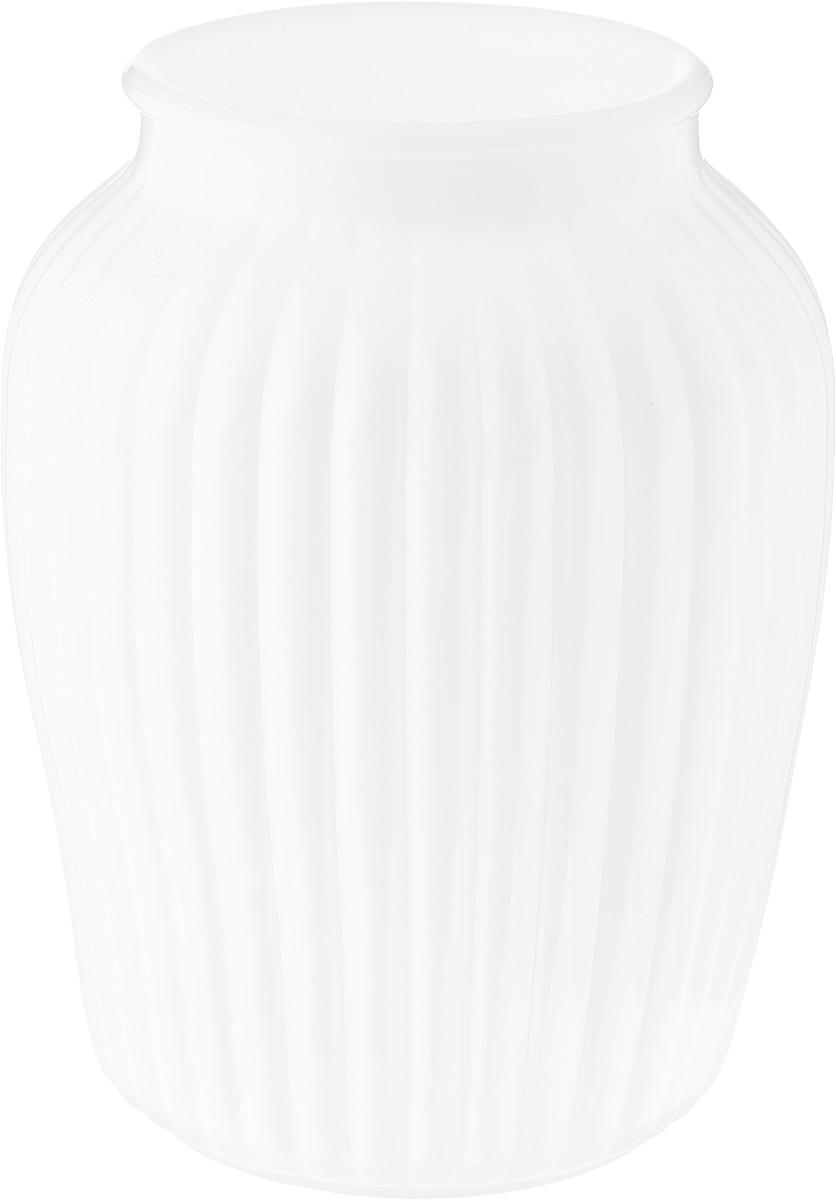 Ваза NiNaGlass Луана, цвет: белый, высота 19,5 смNG92-021M_белыйВаза Nina Glass Луана выполнена из высококачественного стекла и имеет изысканный внешний вид. Такая ваза станет ярким украшением интерьера и прекрасным подарком к любому случаю. Не рекомендуется мыть в посудомоечной машине. Высота вазы: 19,5 см. Диаметр вазы (по верхнему краю): 10 см.