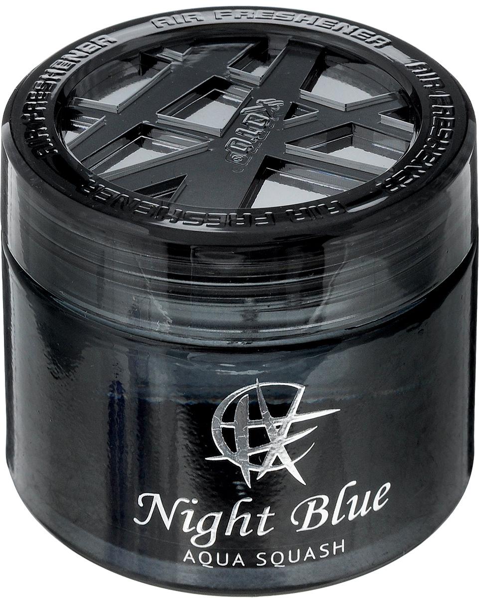 Ароматизатор автомобильный Koto Night Blue, гелевый, Aqua Squash, 65 млFPG-140Автомобильный ароматизатор Koto Ocean Blue эффективно устраняет неприятные запахи и придает легкий приятный аромат. Сочетание формулы геля с парфюмами наилучшего качества обеспечивает устойчивый запах. Кроме того, ароматизатор обладает элегантным дизайном, поэтому будет гармонично смотреться в салоне любого автомобиля. Благодаря удобной конструкции, его можно установить в любое место, например, на панель, под сиденье или в двери. Крепится ароматизатор с помощью двусторонней наклейки (входит в комплект). Срок эффективного действия - до 90 дней. Его можно использовать не только в автомобиле, но и в домашних условиях. Объем: 65 мл.