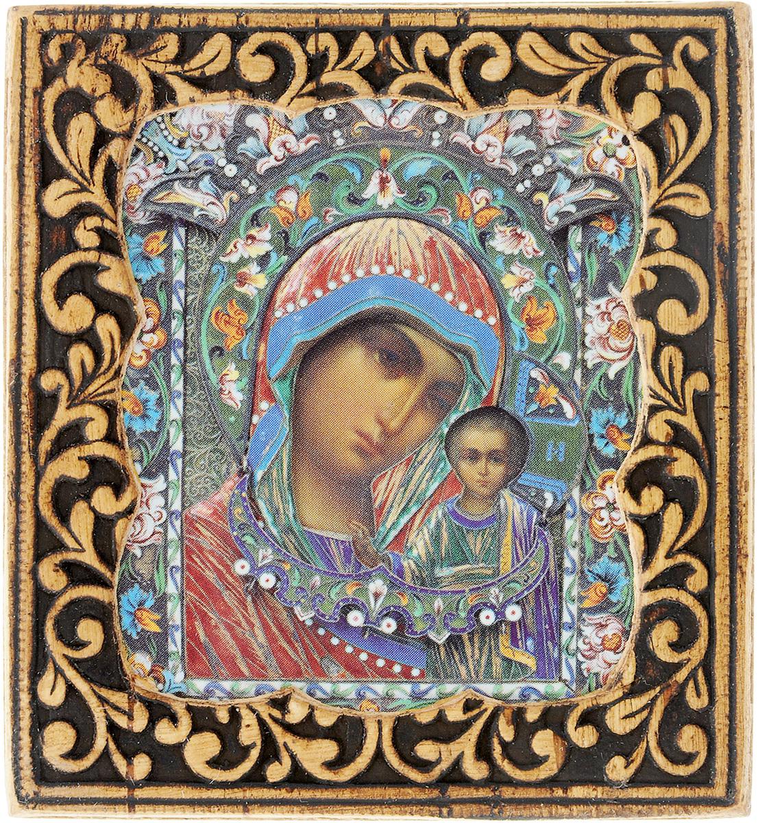Икона Sima-land Смоленская Пресвятая Богородица, 6 х 6,5 см583641Икона Sima-land Смоленская Пресвятая Богородица, 6 х 6,5 см