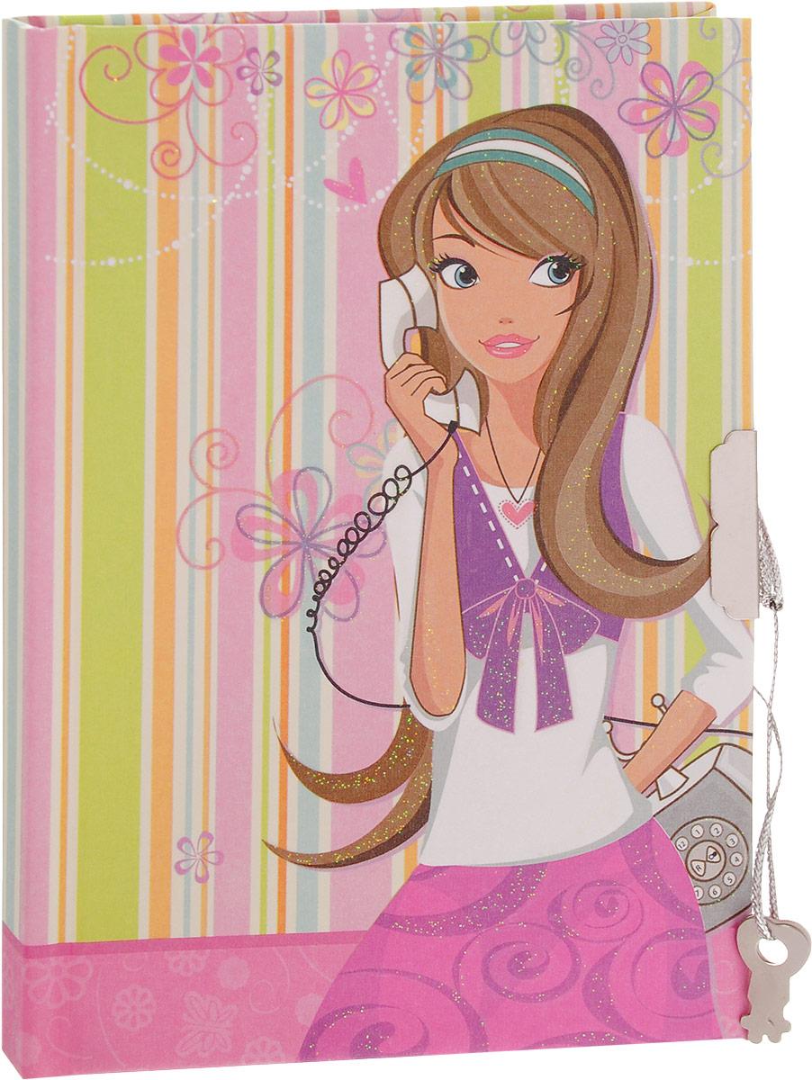 Brauberg Блокнот С телефоном 60 листов в линейку 123548123548_ с телефономКомпактный блокнот Brauberg С телефоном без труда поместится даже в карман и всегда будет под рукой. Блокнот в линейку идеально подойдет для записей и пометок, а также для ведения личного дневника. Обложка закрывается на ключ и надежно сохранит все ваши секреты и личные записи от посторонних глаз. Ароматизированный внутренний блок, представленный 60 листами, сделает использование такого блокнота еще более приятным. Практичный блокнот в обложке с милым рисунком поднимет настроение и понравится всем любителям оригинальных вещей.