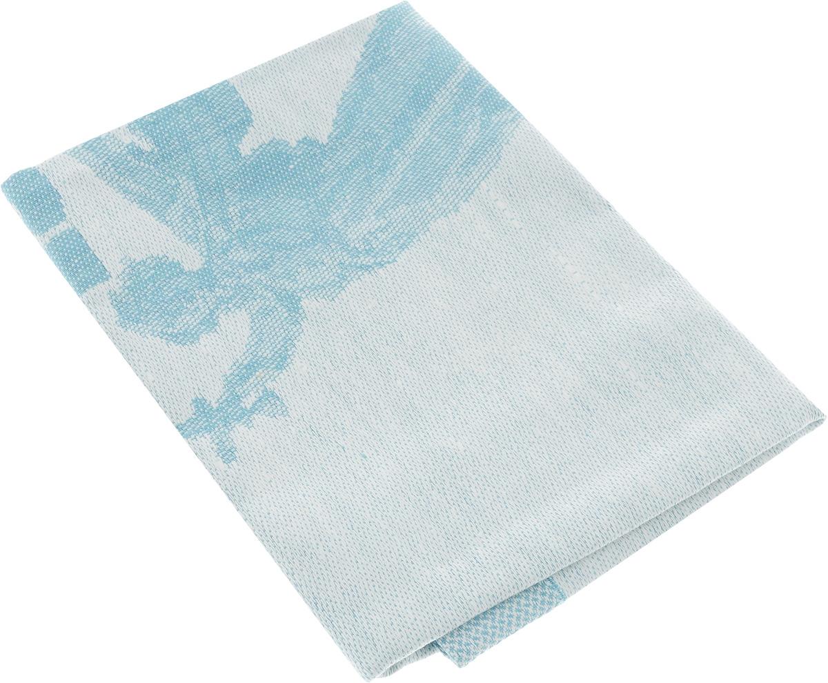 Салфетка жаккардовая Гаврилов-Ямский Лен, цвет: голубой, белый1со44_голубой, белыйСалфетка жаккардовая Гаврилов-Ямский Лен, цвет: голубой, белый