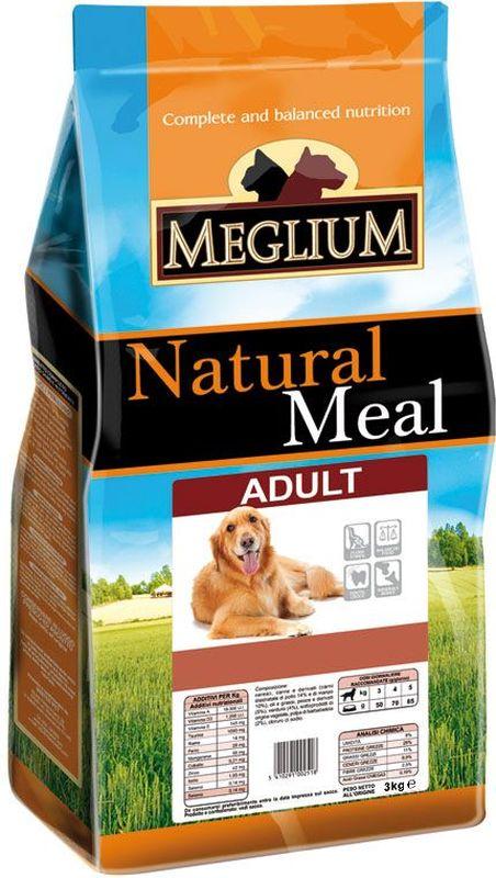 Корм сухой Meglium для собак, 3 кгMS0103Сбалансированный корм с оптимальным соотношением белков и жиров, обеспечивает суточную пищевую потребность. Содержит жизненноважные витамины и минералы.