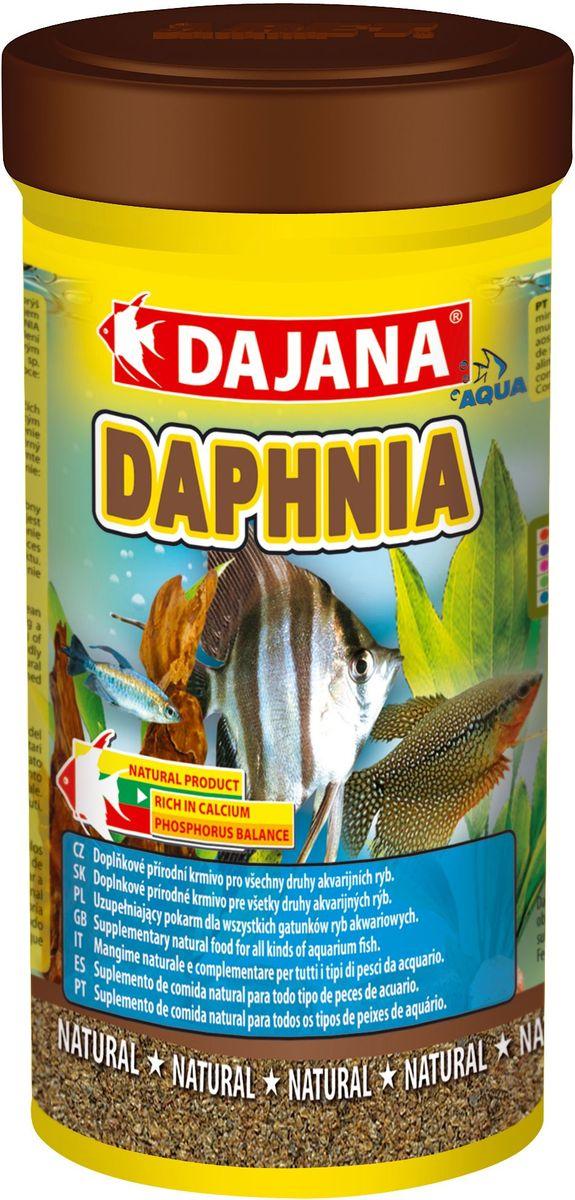 Корм для рыб Dajana Daphnia, 100 млDP200AПриродный натуральный корм из сушеного водяного планктона, для всех видов аквариумных рыб. Благотворно влияет на пищеварительную систему, обеспечивая долгую и здоровую жизнь рыб.