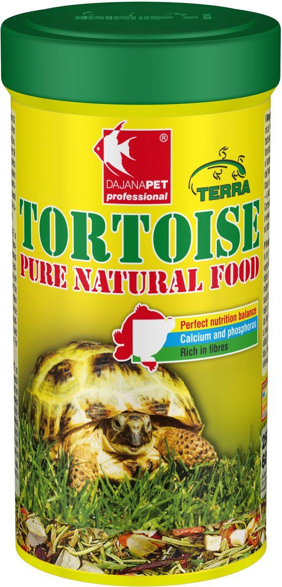 Корм для черепах сухопутных Dajana Tortouse Sticks, 250 млDP252BПолноценный корм в виде палочек, смесь отборных продуктов растительного происхождения, предназначенная для всех видов сухопутных травоядных черепах и других травоядных пресмыкающихся. Смесь в оптимальном соотношении дает животным важные питательные вещества, включая кальций и фосфор, необходимый для правильного развития скелета и организма в целом.