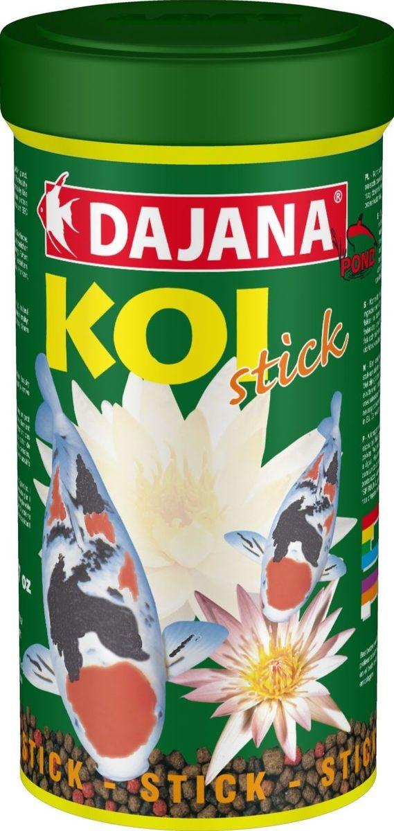 Корм для рыб прудовых Dajana Koi Stick, 1 л (450 г)DP303DКомплексный корм для декоративных карасе.Специальные кусочки хорошо держатся на воде и содержат все питательные вещества необходимые для развития и роста рыб. Kормите несколько раз в день так, чтобы рыбы съели корм в течение нескольких минут.