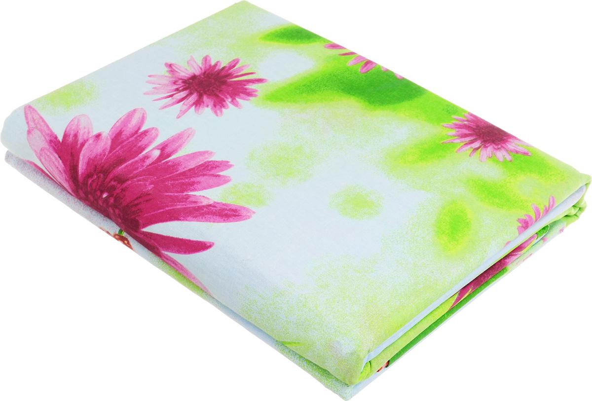 Комплект белья МарТекс Цветущий луг, 2-спальный, наволочки 70х70, цвет: голубой, зеленый01-0568-2Комплект постельного белья МарТекс Цветущий луг состоит из пододеяльника, простыни и двух наволочек и изготовлен из бязи. Постельное белье оформлено оригинальным ярким 3D рисунком и имеет изысканный внешний вид. Бязь - вид ткани, произведенный из натурального хлопка. Бязевое белье выдерживает большое количество стирок. Благодаря натуральному хлопку, постельное белье приобретает способность пропускать воздух, давая возможность телу дышать. Приобретая комплект постельного белья МарТекс, вы можете быть уверенны в том, что покупка доставит вам и вашим близким удовольствие и подарит максимальный комфорт.