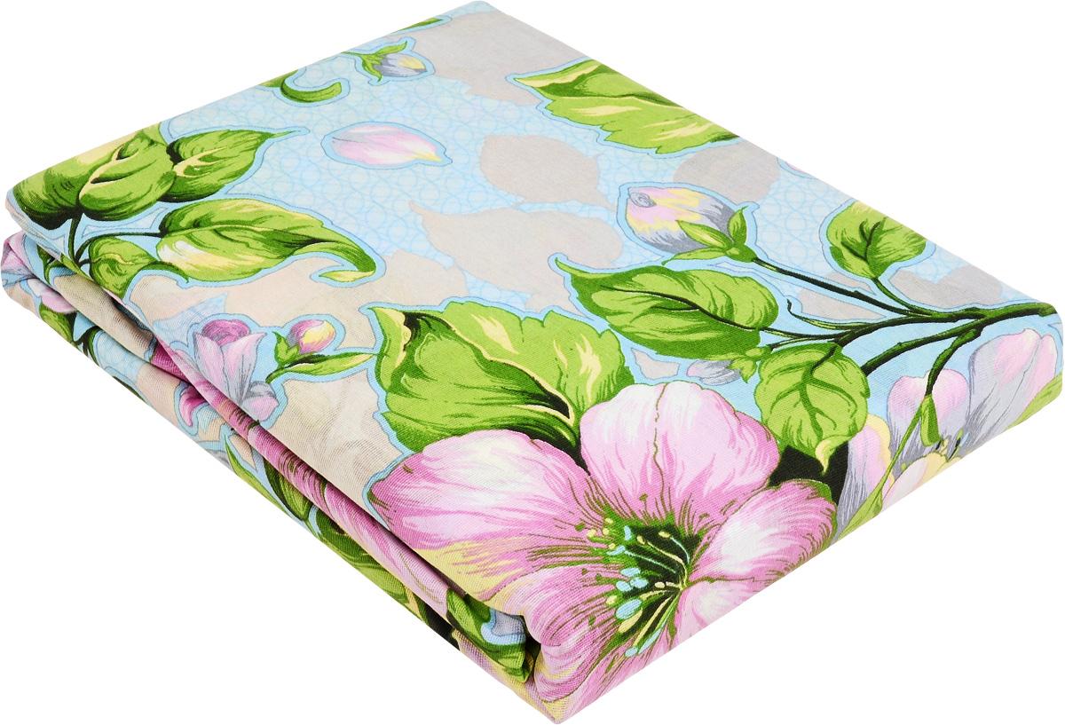 Комплект белья МарТекс Кудесница. Аромат весны, 2-спальный, наволочки 70х70, цвет: голубой, зеленый, бежевый01-1010-2Комплект постельного белья МарТекс Кудесница. Аромат весны состоит из пододеяльника, простыни и двух наволочек и изготовлен из бязи. Постельное белье оформлено оригинальным ярким рисунком и имеет изысканный внешний вид. Бязь - вид ткани, произведенный из натурального хлопка. Бязевое белье выдерживает большое количество стирок. Благодаря натуральному хлопку, постельное белье приобретает способность пропускать воздух, давая возможность телу дышать. Приобретая комплект постельного белья МарТекс, вы можете быть уверенны в том, что покупка доставит вам и вашим близким удовольствие и подарит максимальный комфорт.