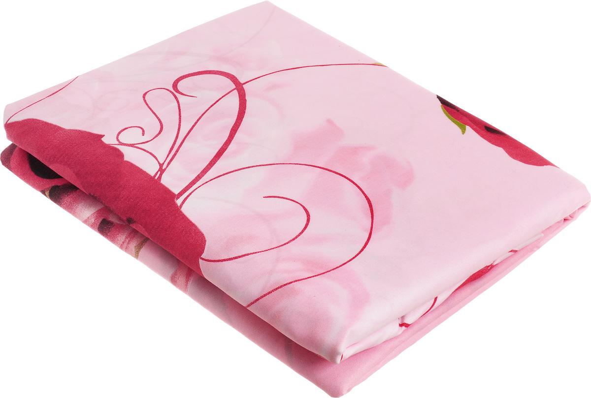 Комплект белья МарТекс Ида, 2-спальный, наволочки 70х70, цвет: розовый01-1246-2Комплект постельного белья МарТекс Ида состоит из пододеяльника, простыни и двух наволочек и изготовлен из качественной микрофибры. Постельное белье оформлено оригинальным ярким 5D рисунком и имеет изысканный внешний вид. Ткань микрофибра - новая технология в производстве постельного белья. Тонкие волокна, используемые в ткани, производят путем переработки полиамида и полиэстера. Такая нить не впитывает влагу, как хлопок, а пропускает ее через себя, и влага быстро испаряется. Изделие не деформируется и хорошо держит форму. Приобретая комплект постельного белья МарТекс, вы можете быть уверенны в том, что покупка доставит вам и вашим близким удовольствие и подарит максимальный комфорт.