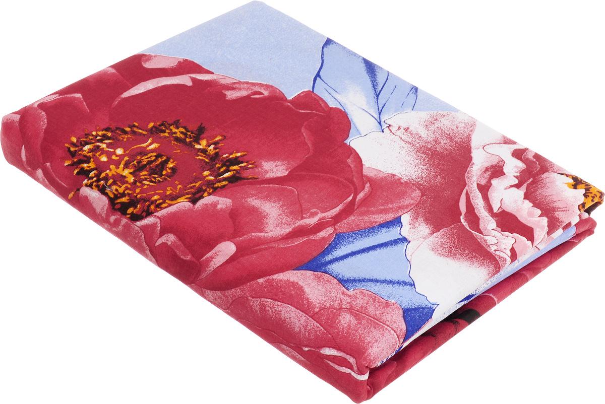 Комплект белья МарТекс Поэтическое свидание, евро, наволочки 50х70, 70х70, цвет: голубой, красный, синий01-0973-3Комплект МарТекс Поэтическое свидание состоит из пододеяльника, простыни и четырех наволочек. Постельное белье, выполненное из бязи (100% хлопка), оформлено ярким рисунком с эффектом 3D и имеет изысканный внешний вид. Бязь - хлопчатобумажная ткань полотняного переплетения без искусственных добавок. Большое количество нитей делает эту ткань более плотной, более долговечной. Высокая плотность ткани позволяет сохранить форму изделия, его первоначальные размеры и первозданный рисунок. Приобретая комплект постельного белья МарТекс Поэтическое свидание, вы можете быть уверенны в том, что покупка доставит вам и вашим близким удовольствие и подарит максимальный комфорт.