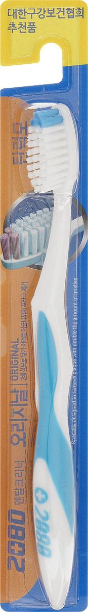 DC 2080 Зубная щетка Оригинал, средняя жесткость, цвет: голубой057216_голубойDC 2080 Зубная щетка Оригинал, средняя жесткость, цвет: голубой