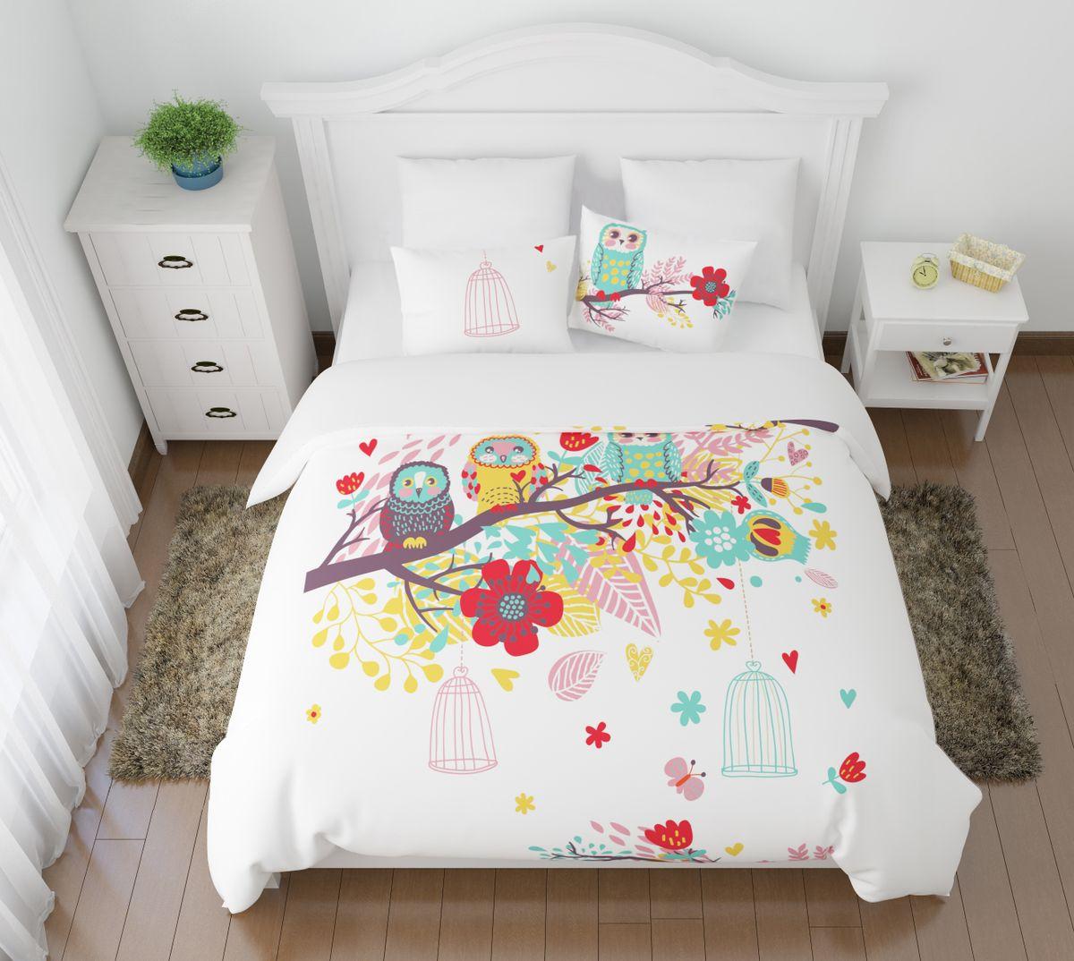 Комплект белья Сирень Волшебный сон, 1,5-спальный, наволочки 50x7002679-КПБ-МКомплект постельного белья Сирень выполнен из прочной и мягкой ткани. Четкий и стильный рисунок в сочетании с насыщенными красками делают комплект постельного белья неповторимой изюминкой любого интерьера. Постельное белье идеально подойдет для подарка. Идеальное соотношение смешенной ткани и гипоаллергенных красок это гарантия здорового, спокойного сна. Ткань хорошо впитывает влагу, надолго сохраняет яркость красок. Цвет простыни, пододеяльника, наволочки в комплектации может немного отличаться от представленного на фото. В комплект входят: простынь - 150х220см; пододельяник 145х210 см; наволочка - 50х70х2шт. Постельное белье легко стирать при 30-40 градусах, гладить при 150 градусах, не отбеливать.Рекомендуется перед первым изпользованием постирать.