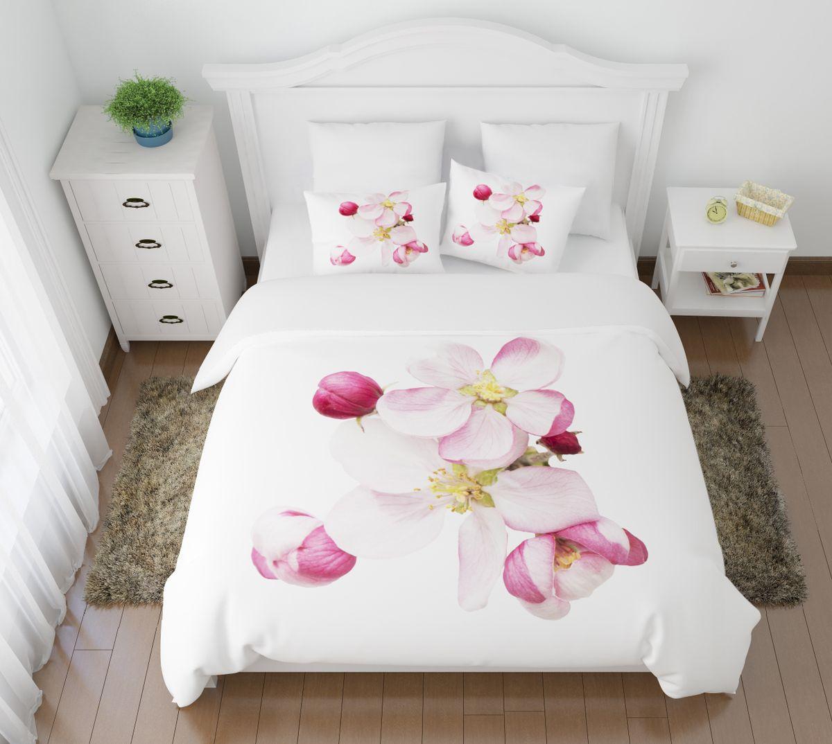 Комплект белья Сирень Распустившиеся цветы, 1,5-спальный, наволочки 50x7008429-КПБ-МКомплект постельного белья Сирень выполнен из прочной и мягкой ткани. Четкий и стильный рисунок в сочетании с насыщенными красками делают комплект постельного белья неповторимой изюминкой любого интерьера. Постельное белье идеально подойдет для подарка. Идеальное соотношение смешенной ткани и гипоаллергенных красок это гарантия здорового, спокойного сна. Ткань хорошо впитывает влагу, надолго сохраняет яркость красок. Цвет простыни, пододеяльника, наволочки в комплектации может немного отличаться от представленного на фото. В комплект входят: простынь - 150х220см; пододельяник 145х210 см; наволочка - 50х70х2шт. Постельное белье легко стирать при 30-40 градусах, гладить при 150 градусах, не отбеливать.Рекомендуется перед первым изпользованием постирать.