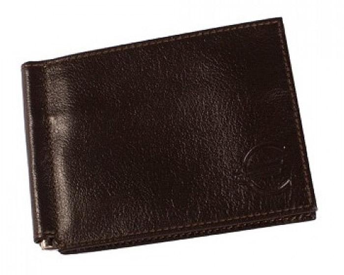 Зажим для купюр мужской Befler Грейд, цвет: темно-коричневый. Z.9.-9Z.9.-9Зажим для купюр из коллекции «Грейд» выполнен из натуральной кожи. На внутреннем развороте: металлическая фурнитура для купюр на пружине, 3 кармана для кредитных карт, дополнительный глубокий карман . На внешней (оборотной) стороне карман для мелочи, закрывающийся на молнию.