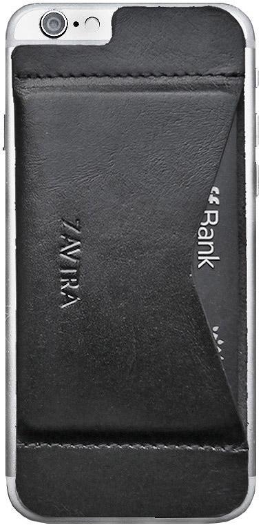Кошелек-накладка для телефона Zavtra, цвет: черный. zav02i6blazav02i6blaДеньги изменились, а кошельки – нет. Сегодня не нужно носить с собой «котлеты» наличных или стопки кредитных карт, а большинство платежей можно сделать с помощью мобильного телефона. Мы решили сделать кошелёк, который отвечает запросам современного мира. Оригинальный формат продиктован изменившимся миром. Телефон и платежи теперь становятся по-настоящему неразделимы. Поэтому мы соединили финансы и смартфон в оригинальном и супер-удобном кошельке-накладке Zavtra.