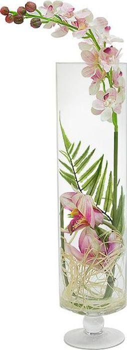 Цветы декоративные Dream Garden Орхидея светло-розовая, в стеклянной вазеDG-JA6045Композиции из искусственных цветов растений в оригинальных вазах и вазонах из керамики, стекла, металла - для декоративного оформления интерьеров квартир, домов, офисов, ресторанов, кафе, банкетных залов, номеров и холлов отелей, салонов красоты, фитнес-клубов…. Композиции не уступают красоте живых цветов, подчеркивают индивидуальность и создают цветочное настроение! Композиции из искусственных цветов долговечны, не требуют ежедневного ухода, выполнены из натуральных шелка и текстиля, прошедших специальную обработку высококачественными современными материалами. Искусственные цветы максимально приближены к натуральным, не пахнут, что исключает все аллергические реакции. Композиции из искусственных цветов – это прекрасный подарок в любой дом!