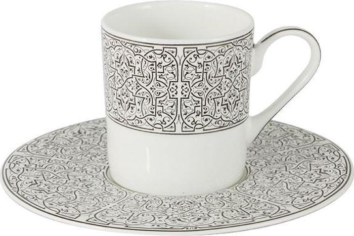 Набор кофейный Naomi Серебряный дворец, 12 предметовNG-10103-C6-ALЧайная и обеденная посуда торговой марки Naomi из высококачественного костяного фарфора отличается прекрасными дизайнами, исполненными как в современном, так и в классическом стиле по разработкам современных японских художников. Все изделия изготавливаются на современном оборудовании по новейшим технологиям и проходят строгий контроль качества. Посуда Naomi представлена чайными сервизами на 6 и 12 персон, включающими чайные пары, десертные тарелки, чайник с крышкой, сливочник с сахарницей и блюдо для торта в наборе на 12 персон; обеденными сервизами, в состав которых входят наборы обеденных, суповых и закусочных тарелок, салатники, блюда, соусник на блюдце и набор для специй. Сервизы Naomi могут стать прекрасным подарком на свадьбу, новоселье или другое значительное событие, ведь форма и дизайн Naomi никогда не выйдут из моды и всегда будет радовать своих хозяев. Костяной фарфор NAOMI • можно использовать в микроволновой печи! Технология Microwave Safe Gold позволяет...