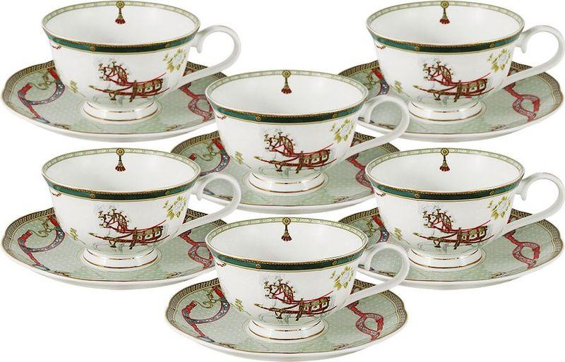 Сервиз чайный Anna Lafarg Emily Эдинбург, 12 предметовAL-M1924/12-E9Чайная и обеденная столовая посуда торговой марки Anna Lafarg произведена из высококачественного костяного фарфора. Тончайший костяной фарфор, высокое качество нанесения декора, элегантность форм, уникальный дизайн - все это является отличительной чертой бренда. Коллекция Anna Lafarg Emily представлена, как в виде обеденных и чайных сервизов на 6 и 12 персон, так и наборами для чая в подарочных упаковках. Вся посуда выполнена в классическом стиле, который всегда на пике моды, украсит любой интерьер и принесет уют в каждый дом.