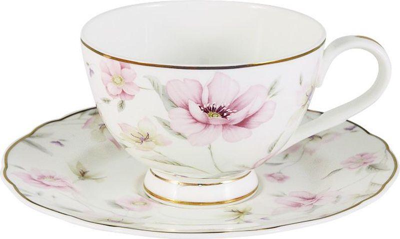 Чайная пара Anna Lafarg Emily Розовый танецAL-M1661/CS-E9Чайная и обеденная столовая посуда торговой марки Anna Lafarg произведена из высококачественного костяного фарфора. Тончайший костяной фарфор, высокое качество нанесения декора, элегантность форм, уникальный дизайн - все это является отличительной чертой бренда. Коллекция Anna Lafarg Emily представлена, как в виде обеденных и чайных сервизов на 6 и 12 персон, так и наборами для чая в подарочных упаковках. Вся посуда выполнена в классическом стиле, который всегда на пике моды, украсит любой интерьер и принесет уют в каждый дом.