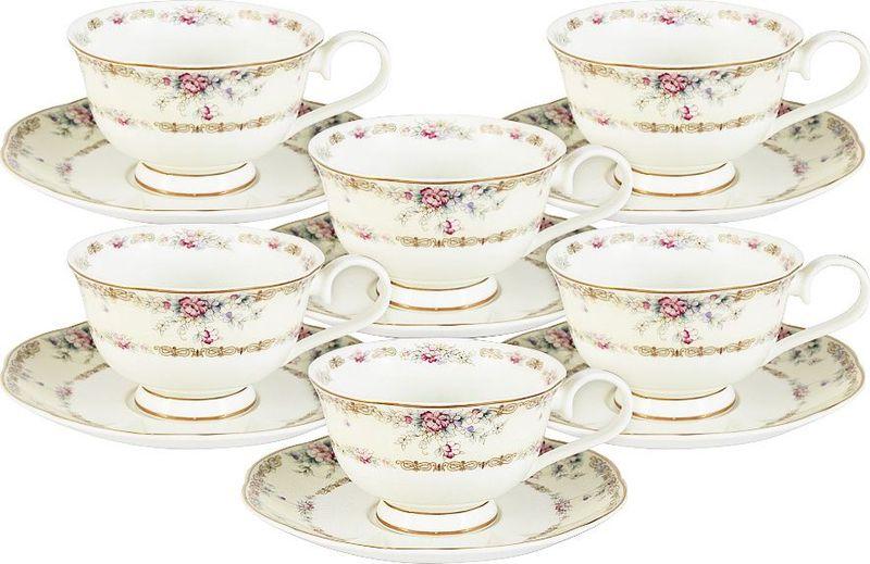 Сервиз чайный Anna Lafarg Emily Сан Марино, 12 предметовAL-M1744/12-E9Чайная и обеденная столовая посуда торговой марки Anna Lafarg произведена из высококачественного костяного фарфора. Тончайший костяной фарфор, высокое качество нанесения декора, элегантность форм, уникальный дизайн - все это является отличительной чертой бренда. Коллекция Anna Lafarg Emily представлена, как в виде обеденных и чайных сервизов на 6 и 12 персон, так и наборами для чая в подарочных упаковках. Вся посуда выполнена в классическом стиле, который всегда на пике моды, украсит любой интерьер и принесет уют в каждый дом.
