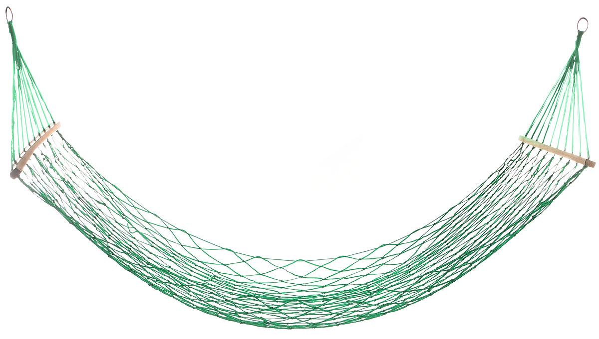 Гамак Wildman Сетка, на кольцах, цвет: зеленый, 80 х 200 см81-174_зеленыйПрочный гамак на кольцах Wildman Сетка, изготовленный из нейлона, внесет дополнительный комфорт в ваш отдых на даче, в походе или на пикнике. Изделие оснащено деревянным каркасом. Дача, лето, свежий воздух, отдых после тяжелой работы, возможность побыть наедине с природой, насладиться запахами листвы и цветов, солнечным светом, пробивающимся сквозь кроны деревьев - все эти приятные мысли и эмоции пробуждаются в нас при взгляде на один очень простой предмет - гамак.