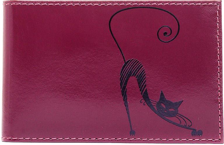 Визитница горизонтальная Befler Изящная кошка. V.37.-1, цвет: фиолетовыйV.37.-1.violetКомпактная горизонтальная визитница Befler Изящная кошка фиолетового цвета - стильная вещь для хранения визиток. Обложка визитницы выполнена из натуральной кожи и оформлена декоративным тиснением в виде черной кошки. Визитница предназначена для хранения 20 визиток. Характеристики: Цвет: фиолетовый. Размер: 11 см x 7 см x 1 см. Размер упаковки: 14 см x 7,5 см x 2 см. Материал: натуральная кожа. Производитель: Россия. Артикул: V.37.-1.violet.