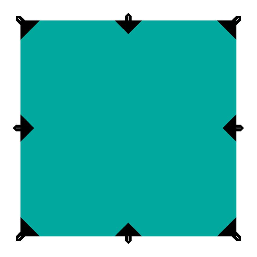 "Тент ""Tramp"", цвет: зеленый, 3 х 3 м TRT-100.04"