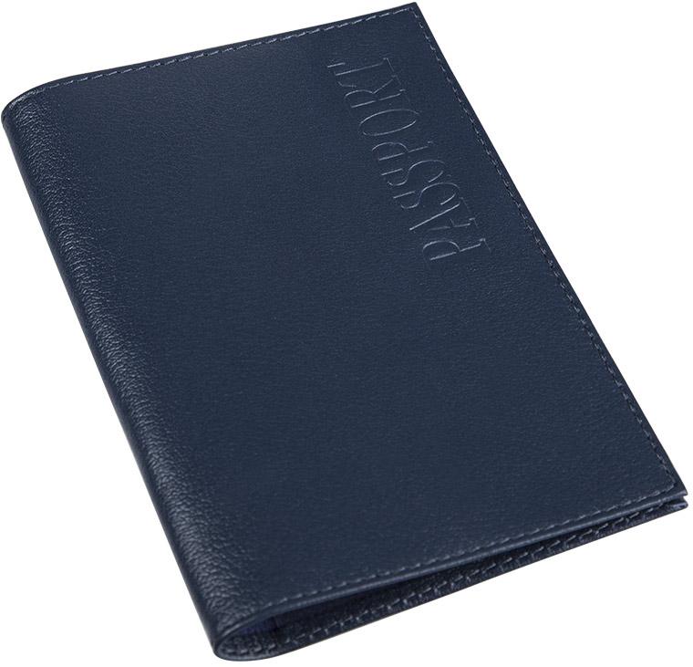 Обложка для паспорта муж Befler Грейд, цвет: синий. O.1.-9O.1.-9.синийОбложка для паспорта из коллекции «Грейд» выполнена из натуральной кожи. На внутреннем развороте 2 кармана из прозрачного пластика с выемкой.