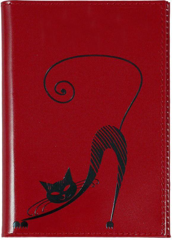 Бумажник водителя Befler Изящная кошка, цвет: красныйBV.35.-1.redБумажник водителя Befler Изящная кошка выполнен из натуральной кожи красного цвета и украшен декоративным тиснением в виде черной кошки. Имеет внутри два глубоких вертикальных кармана и внутренний блок из прозрачного пластика для водительских документов. Такой бумажник станет отличным подарком для человека, ценящего качественные и необычные вещи. Характеристики: Цвет: красный. Размер (в закрытом виде): 9 см x 12,5 см. Размер упаковки: 10,5 см x 14,5 см x 1 см. Материал: натуральная кожа. Производитель: Россия. Артикул: BV.35.-1.red. Befler является дочерним брендом крупнейшего производителя кожгалантереи - компании Askent, существующей с 1993 года. Сохраняя лучшие традиции и высокую культуру производства компании, изделия под маркой Befler соответствуют самым высоким мировым стандартам. Вся продукция проходит многоступенчатый контроль качества на каждой стадии производства, что позволяет приблизить процент брака к...