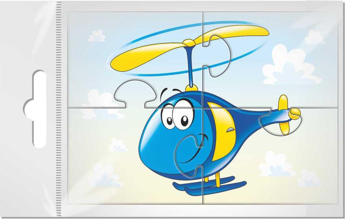Издательская группа Квадра Магнитный пазл для малышей Вертолетик