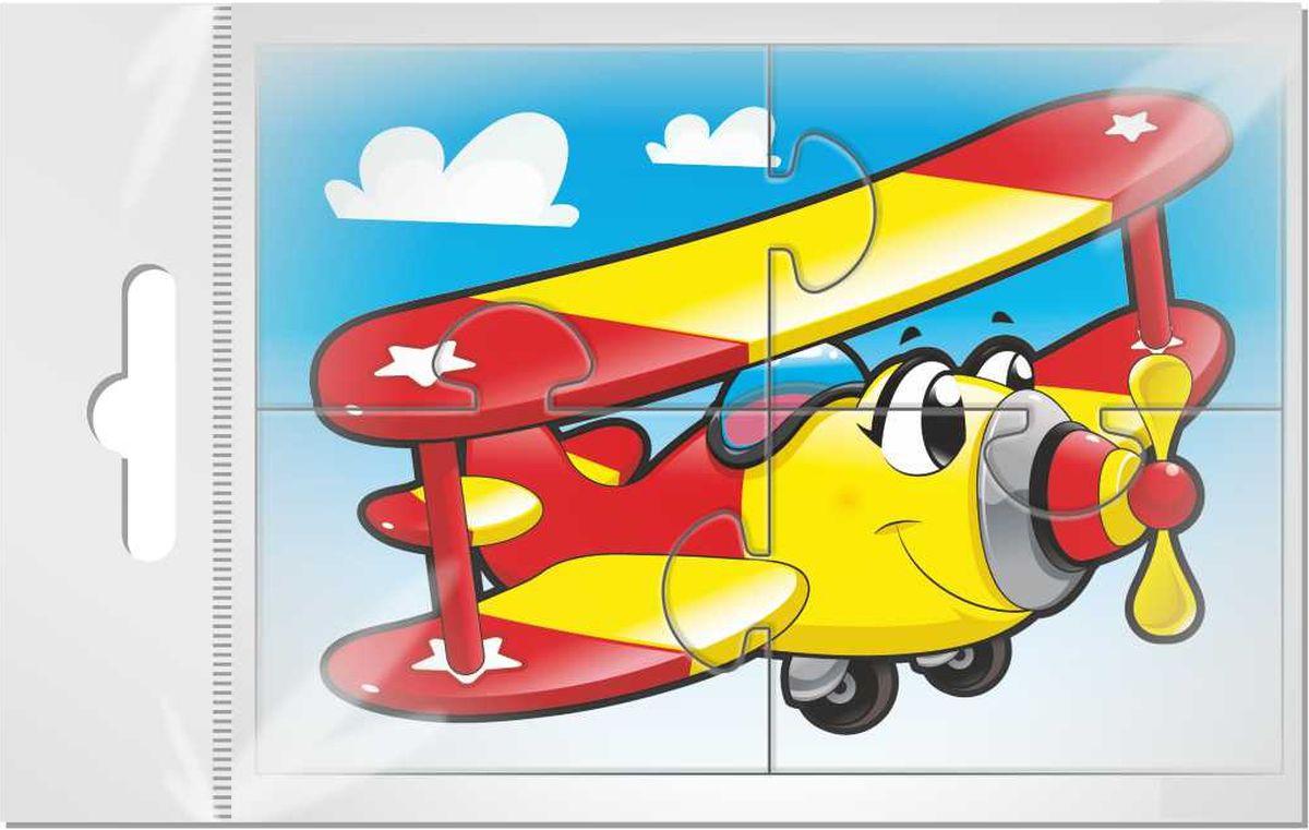 Издательская группа Квадра Магнитный пазл для малышей Самолет