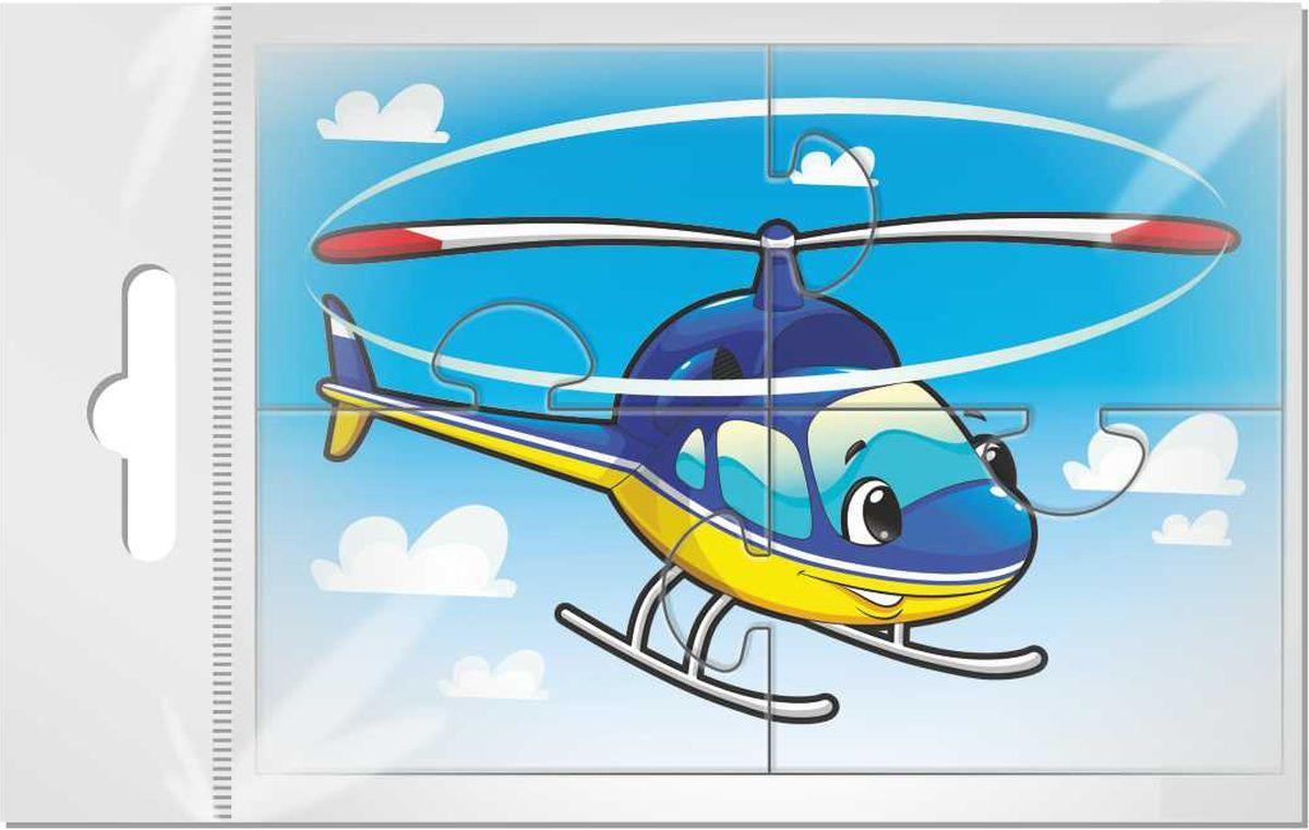 Издательская группа Квадра Магнитный пазл для малышей Вертолет