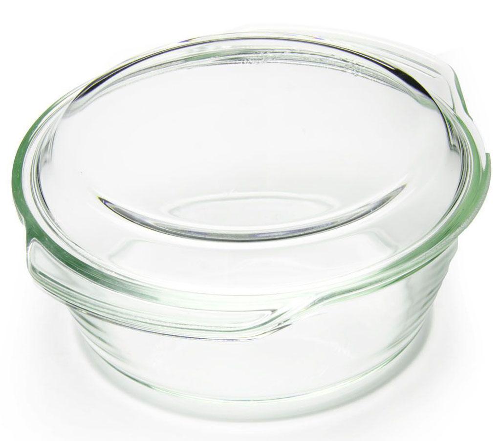 Кастрюля для СВЧ Loraine, стекло, 2 л, с крышкой. 2626926269Посуда Loraine изготовлена из термостойкого стекла. Форма кастрюли круглая с двумя ручками по краям. Посуда из термостойкого стекла будет отличным выбором для всех любителей блюд, приготовленных в духовке и микроволновой печи. Стеклянное изделие не вступает в реакцию с готовящейся пищей, а потому не выделяет никаких вредных веществ, не подвергается воздействию кислот и солей. Из-за невысокой теплопроводности пища в стеклянной посуде гораздо медленнее остывает. Стеклянная посуда очень удобна для приготовления и подачи самых разнообразных блюд: супов, вторых блюд, десертов. Подходит для использования в духовках, микроволновых печах и морозильных камерах (при постепенном охлаждении и нагреве выдерживает температуру от -40С до 400С). Подходит для мытья в посудомоечной машине.