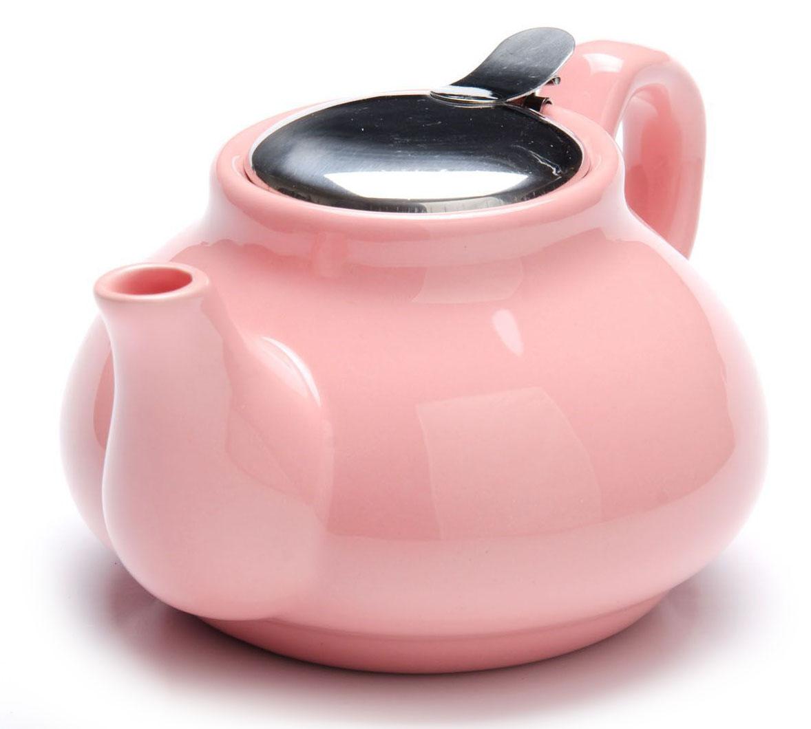 Заварочный чайник Loraine, цвет: розовый, 750 мл. 26594-326594-3Заварочный чайник выполнен из высококачественной цветной керамики. Фильтр, из нержавеющей стали, для заваривания раскроет букет чая и не позволит чаинкам попасть в чашку. Удобная металлическая крышка поддержит нужную температуру для заваривания чая. Керамический чайник прост и удобен в применении, чайник легко мыть. Не ставьте чайник на открытый огонь и нагревающиеся поверхности. Подходит для мытья в посудомоечной машине.