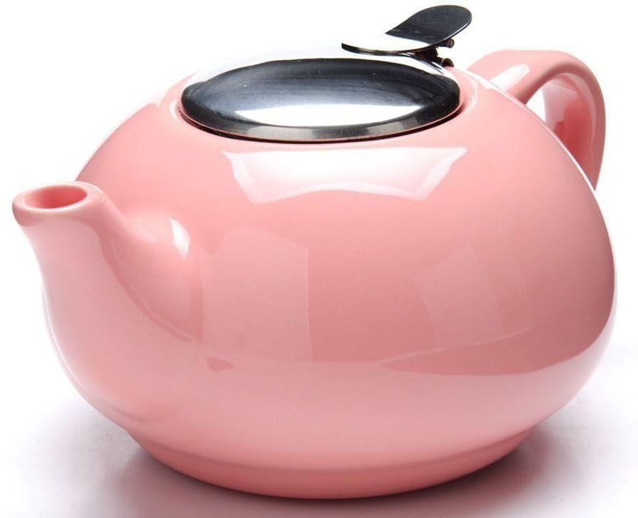 Заварочный чайник Loraine, цвет: розовый, 750 мл. 26596-326596-3Заварочный чайник выполнен из высококачественной цветной керамики. Фильтр, из нержавеющей стали, для заваривания раскроет букет чая и не позволит чаинкам попасть в чашку. Удобная металлическая крышка поддержит нужную температуру для заваривания чая. Керамический чайник прост и удобен в применении, чайник легко мыть. Не ставьте чайник на открытый огонь и нагревающиеся поверхности. Подходит для мытья в посудомоечной машине.