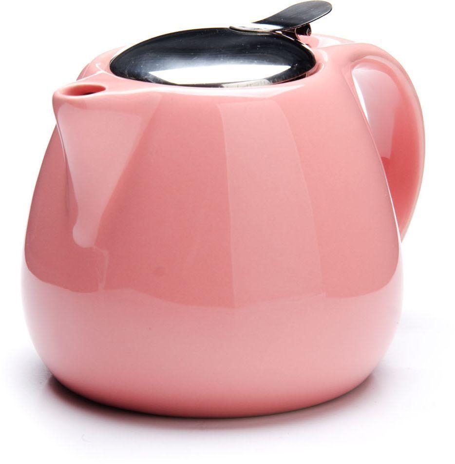 Заварочный чайник Loraine, цвет: розовый, 750 мл. 26597-226597-2Заварочный чайник выполнен из высококачественной цветной керамики. Фильтр, из нержавеющей стали, для заваривания раскроет букет чая и не позволит чаинкам попасть в чашку. Удобная металлическая крышка поддержит нужную температуру для заваривания чая. Керамический чайник прост и удобен в применении, чайник легко мыть. Не ставьте чайник на открытый огонь и нагревающиеся поверхности. Подходит для мытья в посудомоечной машине.