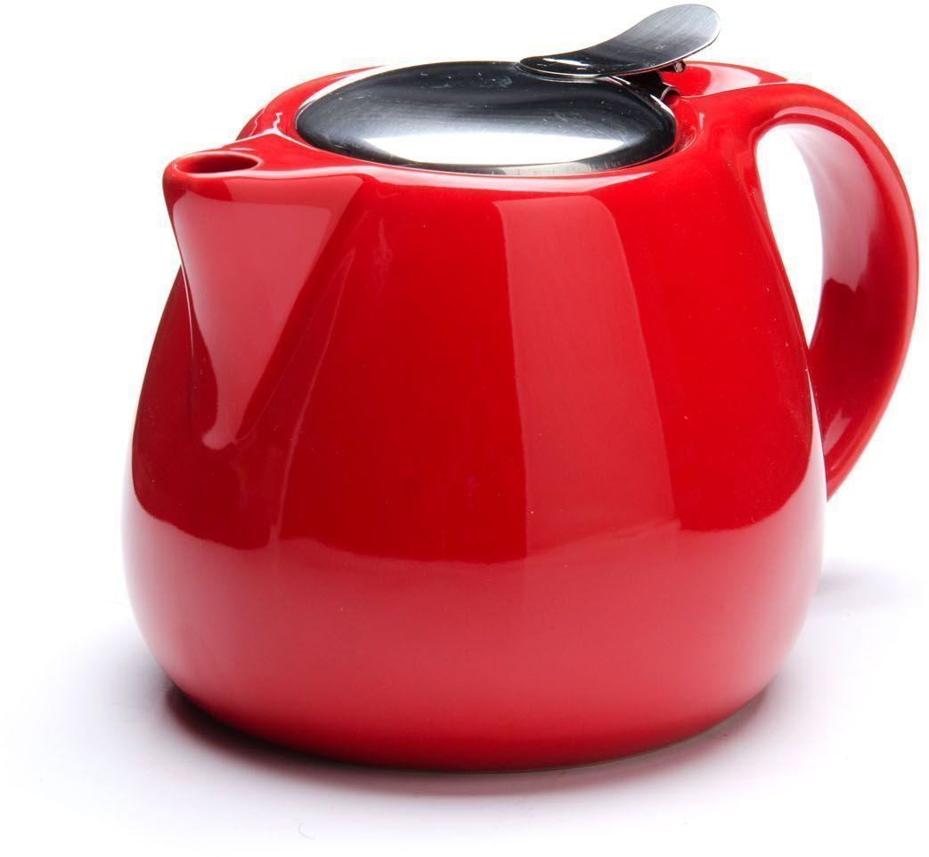 Заварочный чайник Loraine, цвет: красный, 750 мл. 26597-326597-3Заварочный чайник выполнен из высококачественной цветной керамики. Фильтр, из нержавеющей стали, для заваривания раскроет букет чая и не позволит чаинкам попасть в чашку. Удобная металлическая крышка поддержит нужную температуру для заваривания чая. Керамический чайник прост и удобен в применении, чайник легко мыть. Не ставьте чайник на открытый огонь и нагревающиеся поверхности. Подходит для мытья в посудомоечной машине.