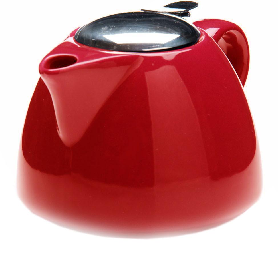 Заварочный чайник Loraine, цвет: красный, 700 мл. 26598-326598-3Заварочный чайник выполнен из высококачественной цветной керамики. Фильтр, из нержавеющей стали, для заваривания раскроет букет чая и не позволит чаинкам попасть в чашку. Удобная металлическая крышка поддержит нужную температуру для заваривания чая. Керамический чайник прост и удобен в применении, чайник легко мыть. Не ставьте чайник на открытый огонь и нагревающиеся поверхности. Подходит для мытья в посудомоечной машине.