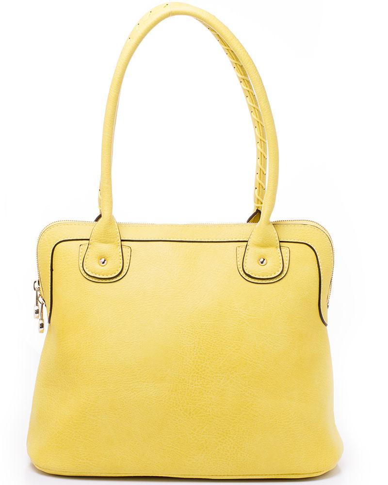 Сумка женская Baggini, цвет: желтый. 29872/8229872/82