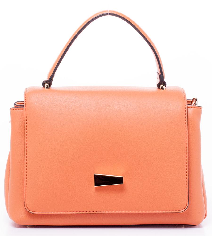 Сумка женская Baggini, цвет: оранжевый. 29721/6229721/62Женская сумка Baggini выполнена из искусственной кожи. Модель с двумя отделениями застегивается на клапан и кнопку. Внутри имеются карманы. Сумка оснащена регулируемым по длине плечевым ремнем.