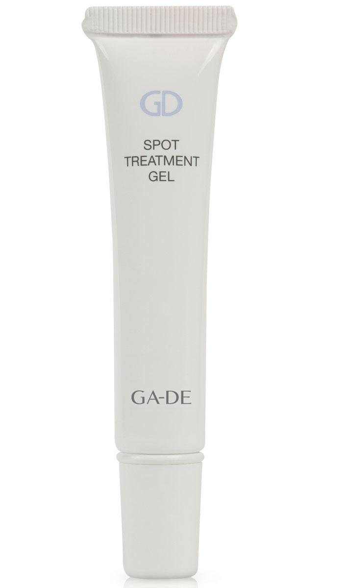 GA-DE Гель локального действия для проблемной кожи Spot Treatment Gel, 15 мл137400000Прозрачный гель предназначен для проблемной кожи с очагами воспалений. Оказывает успокаивающее действие на воспаленную кожу, уменьшает покраснение и отёк, стимулирует внутриклеточную выработку антимикробных пептидов, нормализует липидный баланс, предотвращает появление акне в будущем.