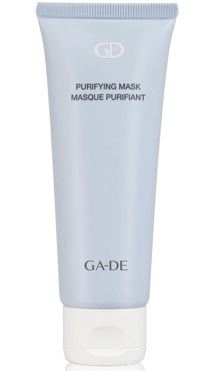 GA-DE Очищающая маска для лица Purifyng Mask, 75 мл130900000Очищающая маска для жирной и комбинированной кожи на основе белой глины. Тщательно очищает кожу от загрязнений, омертвевших клеток и токсинов. Успокаивает раздраженную кожу, нормализует выделение подкожного жира, поддерживает оптимальный уровень увлажнения. Помогает уменьшить восспаления(акне) на коже, глубоко очищает и сужает поры. Оказывает абсорбирующее и противоспалительное действие, регулирует деятельность сальных желез. Нормализует гидролипидный баланс и придает матовость кожи.